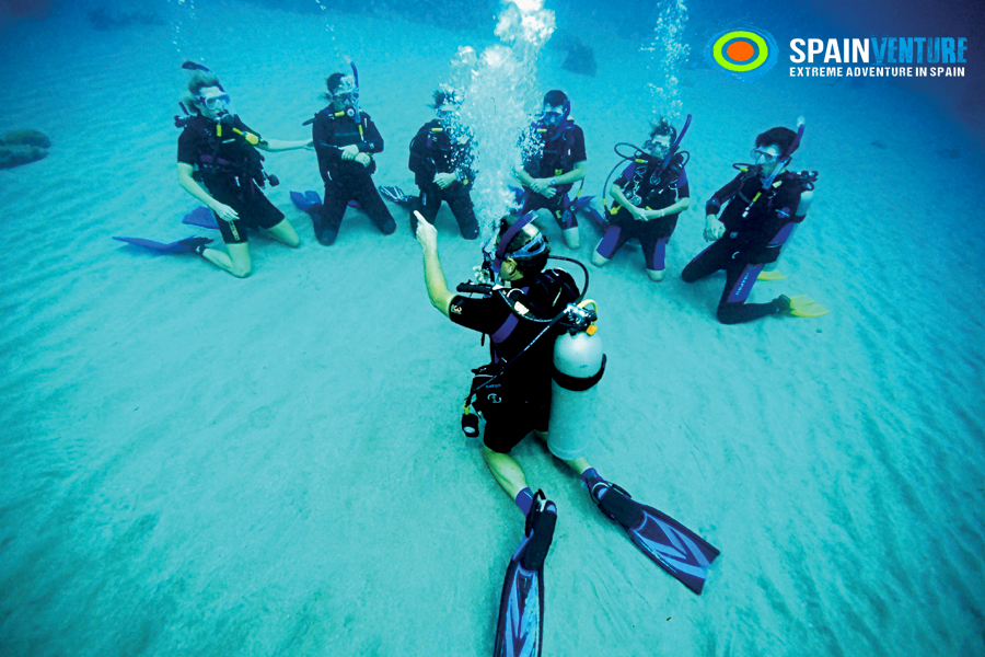 spainventure-clase-de-buceo-suba-dive-lessons-steps-to-enjoy-the-adventure diving tips for beginners